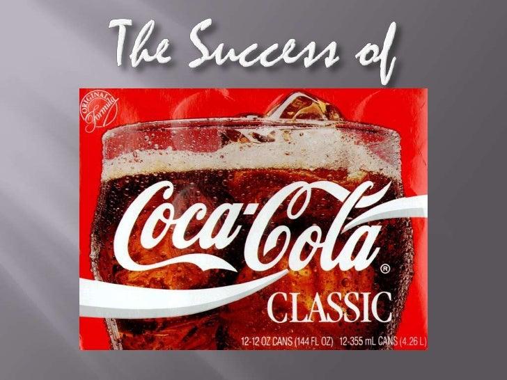 The Success of Coca Cola Brand