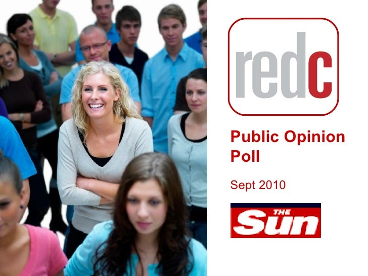 Public Opinion  Poll Sept 2010