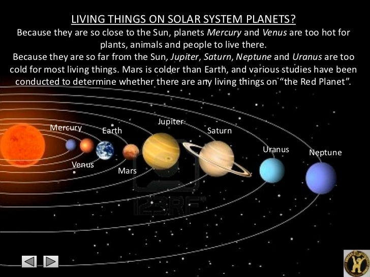 planets in order closest to the sun - photo #8
