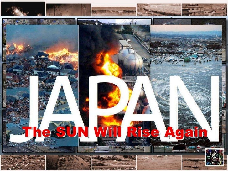 The SUN Will Rise Again: Japan then and now with P. Sparke's 'The sun will rise again'