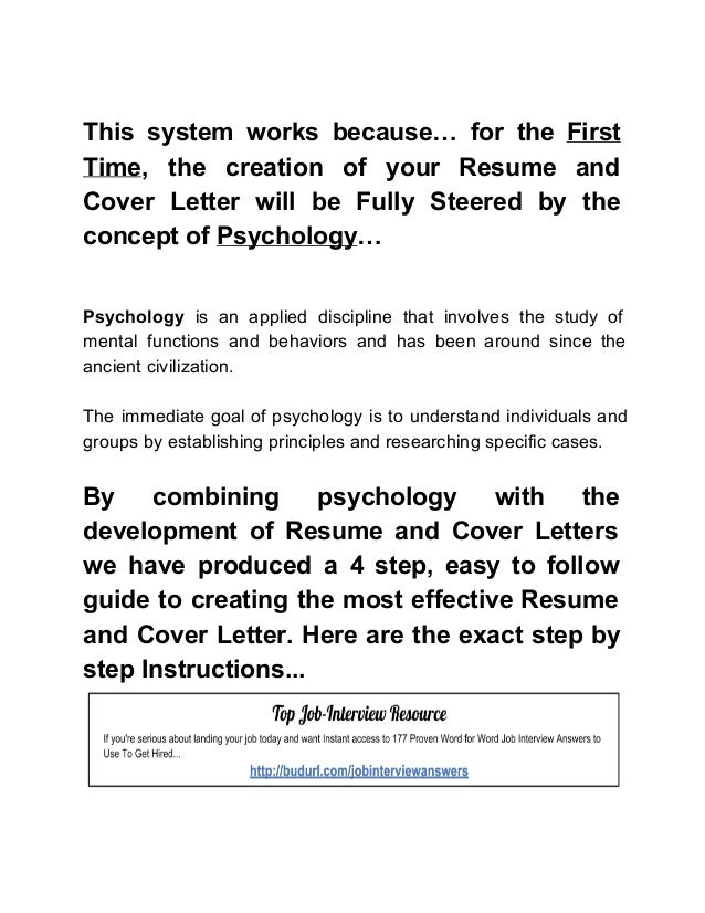 an effective resume and cover letter These people have some of the best cover letters you'll ever read seriously job search, syndication, links we love, resumes & cover letters, communication.