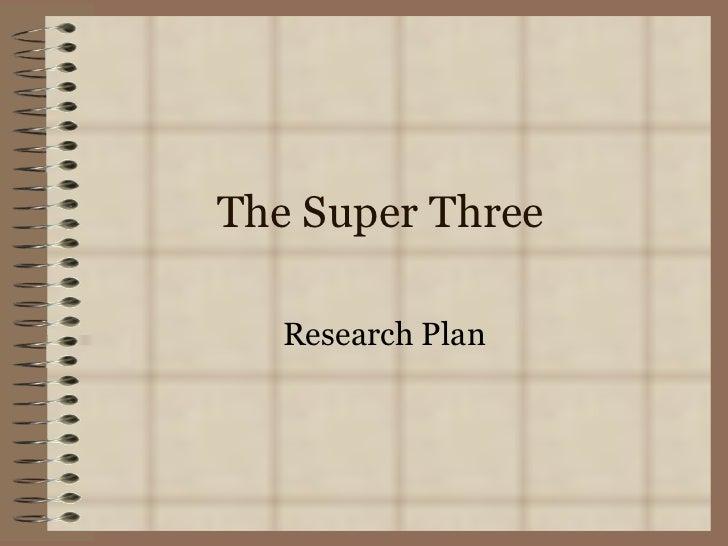 The super three