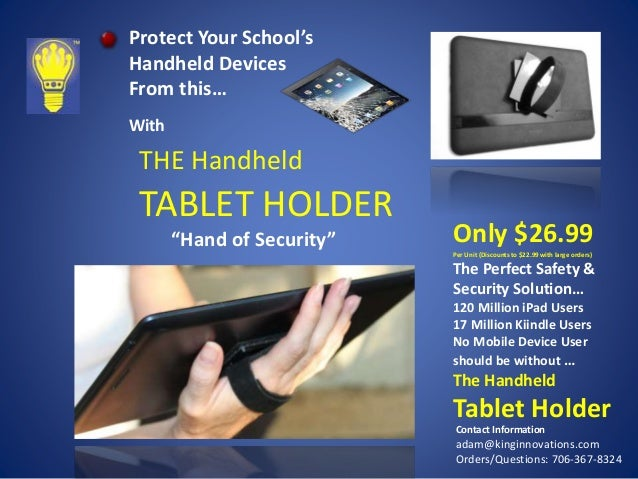 The tablet holder   school presentation for students-faculty-administrators using i pad or other mobile devices - email