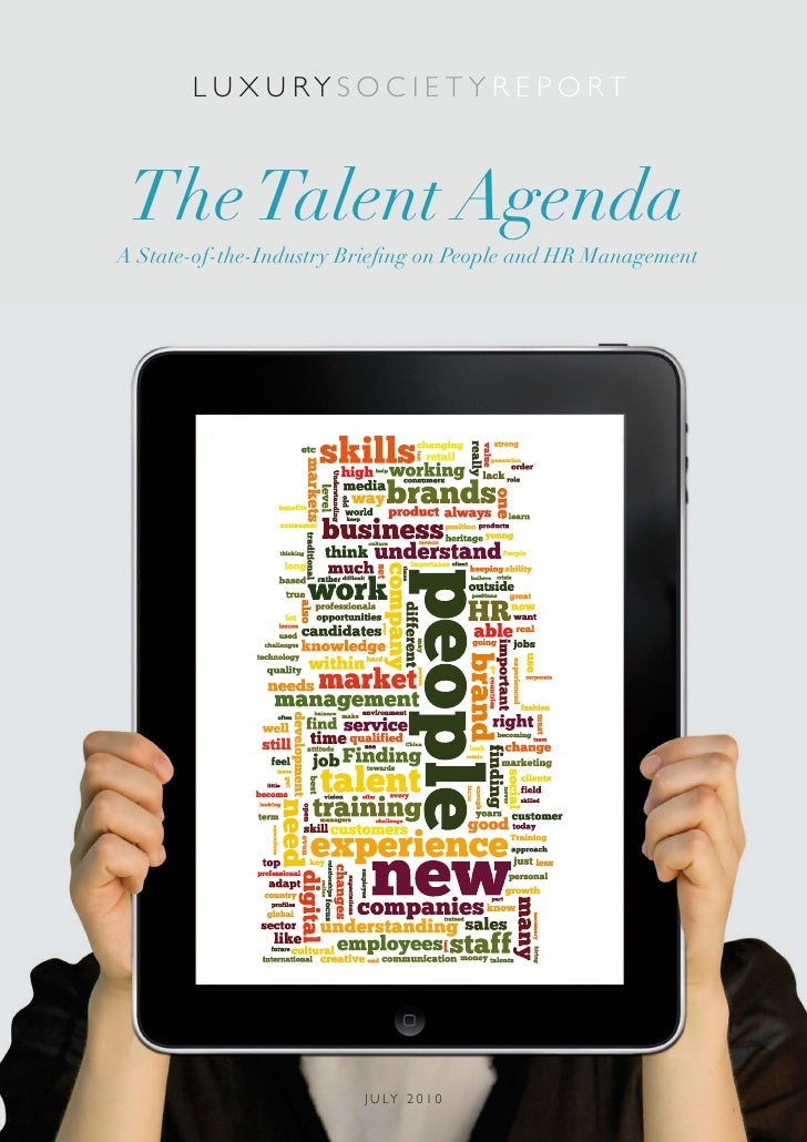LS Report: The Talent Agenda