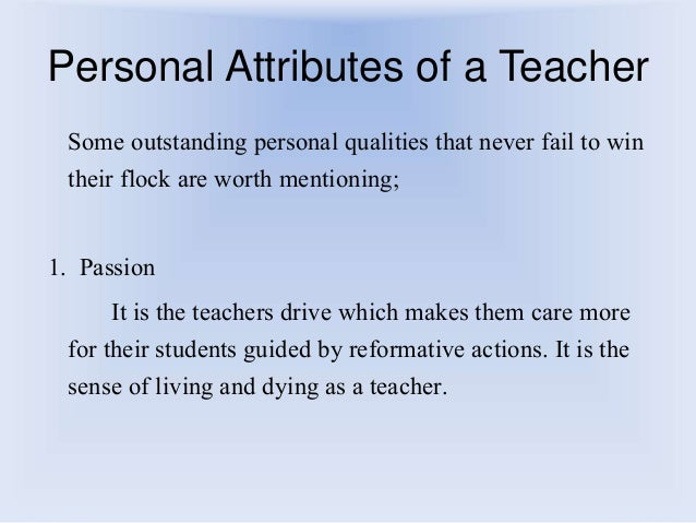 personal attributes of teacher Discover the 7 hidden qualities of an exceptional trainer  mentor, tutor, teacher,  documents similar to discover the 7 hidden qualities of an exceptional trainer.