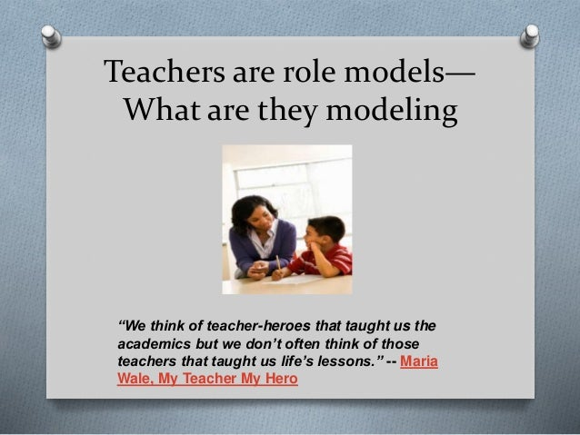 who is your role model essay