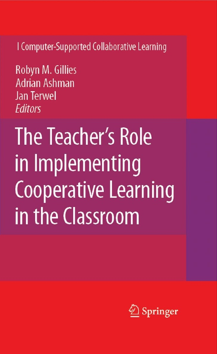 The  Teacher's  Role In  Implementing  Cooperative  Learning