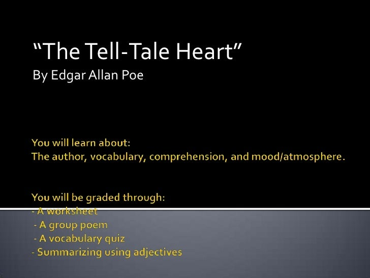critical essay on the tell tale heart Immediately download the the tell-tale heart summary, chapter-by-chapter analysis, book notes, essays, quotes, character descriptions, lesson plans, and more - everything you need for studying or teaching the tell-tale heart.