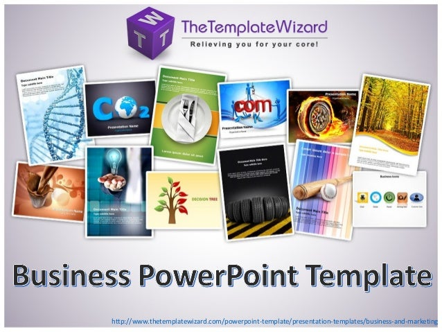 Business & Marketing PowerPoint Template - Business PowerPoint Template