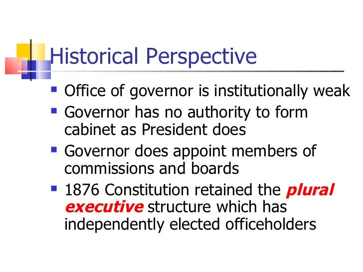 The texas executive for Bureau plural form