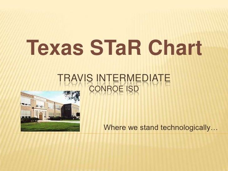 The Texas STaR Chart for Travis Intermediate (Conroe ISD)