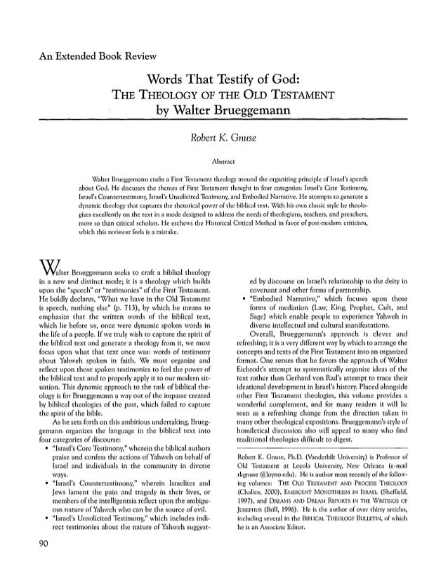 heart of the old testament essay