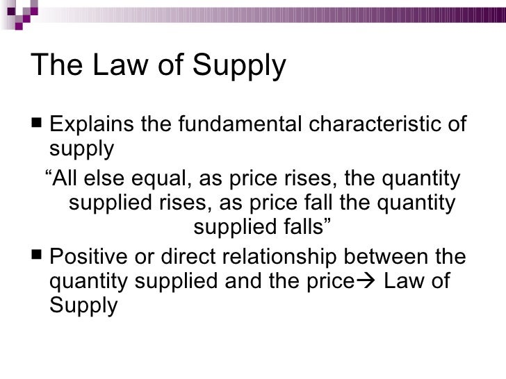 the theory of demand and supply essay Cause of supply and demand essays: in market economy theories, demand and supply theory will allocate resources in the most efficient way possible.
