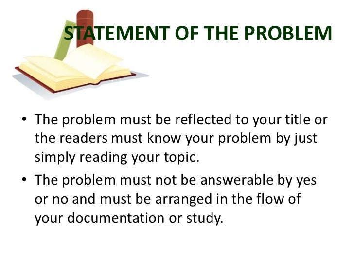 thesis chapter 1 statement of the problem Thesis & dissertation proposal guide for statement of purpose statement of problem limitations definitions (terminology, etc) organization of thesis chap 2 review of literature introduction chapter 1 the problem and its context.