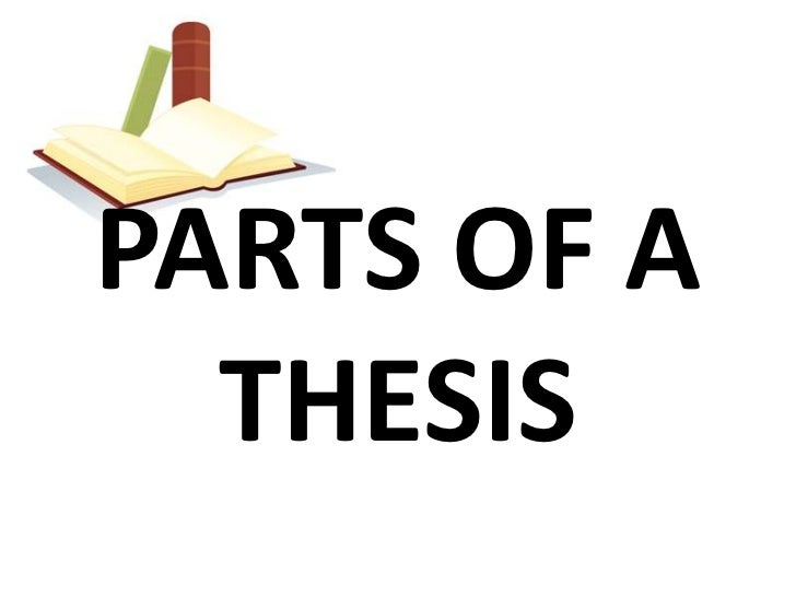 Thesis parts in filipino