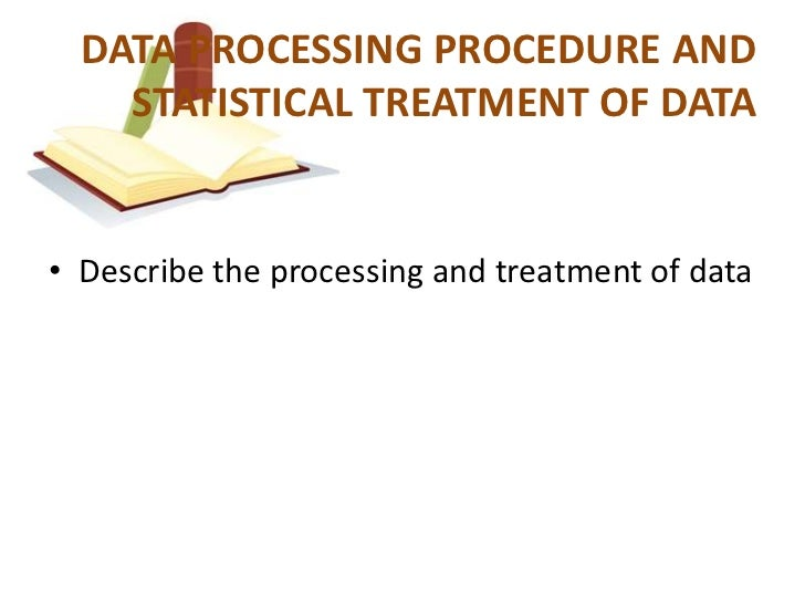 treatment of data in thesis Overview of the maine office of substance abuse treatment data system (tds).