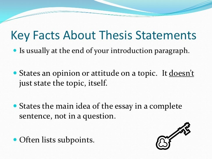 Do College Essays Need A Thesis