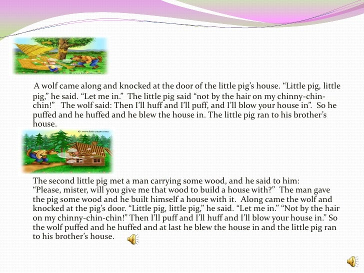 the three harey pigs essay