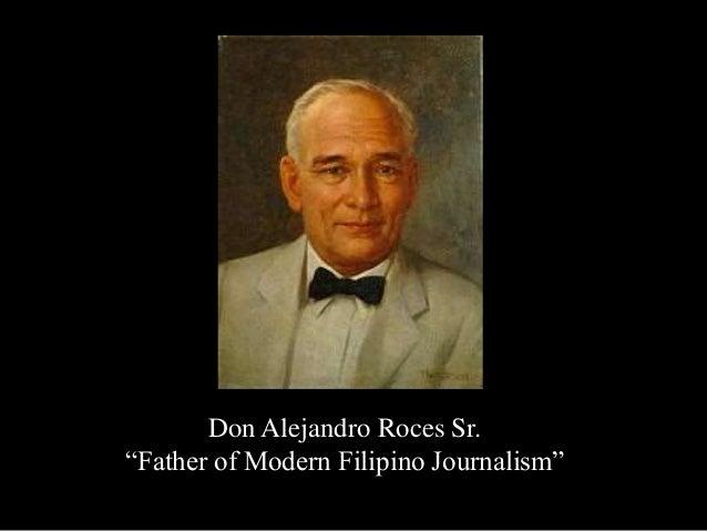 Alejandro Roces sr Don Alejandro Roces sr