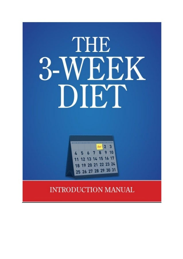 extreme weight loss diet - 3 week diet