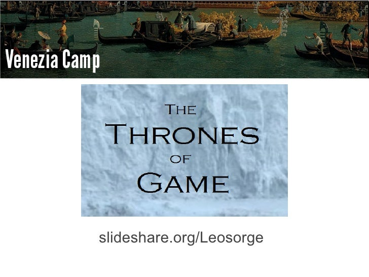 slideshare.org/Leosorge