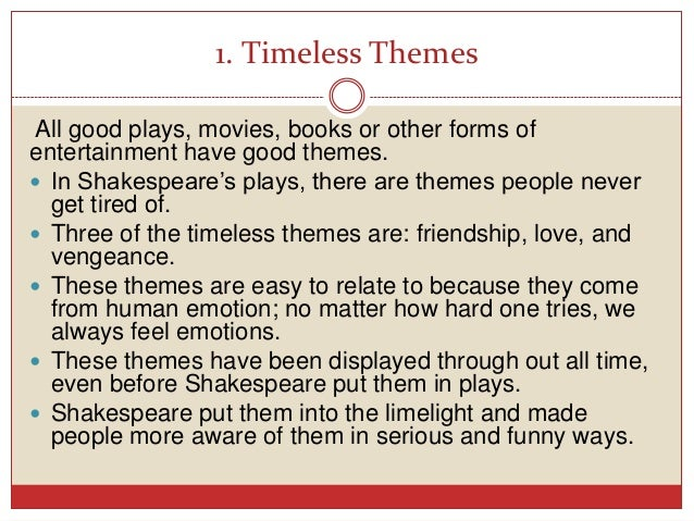 hamlet the theme of having a Both words apply equally well, linking with the theme of hamlet hamlet's seven soliloquies philip allan literature guide for a-level 5 philip allan updates.