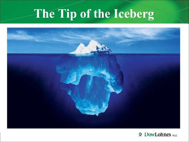 2011The Tip of the Iceberg