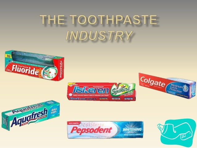 toothpaste industry $2,80000 | the global toothpaste industry 2016 market research report is a professional and in-depth study on the current state of the toothpaste industry firstly, the report provides a.