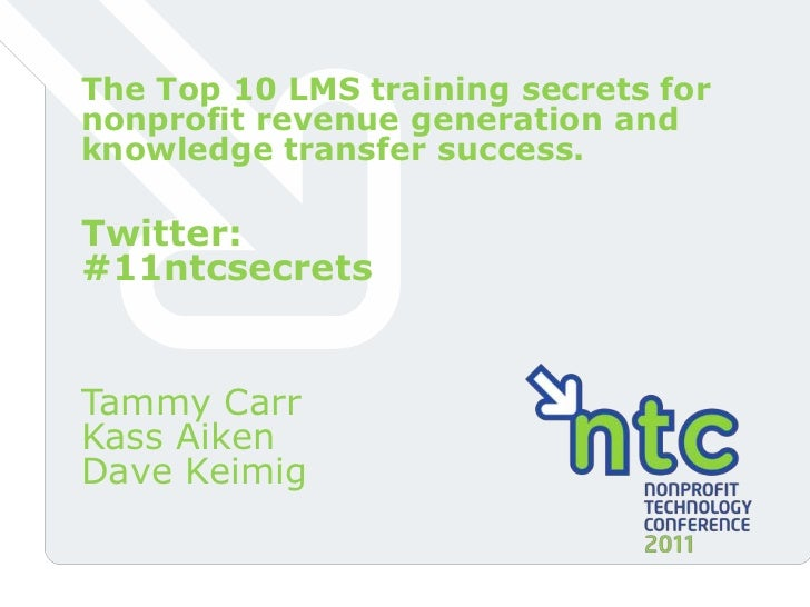 The Top 10 LMS Training Secrets