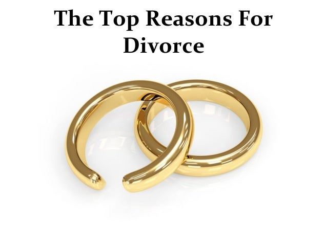 The Top 5 Reasons for Divorce