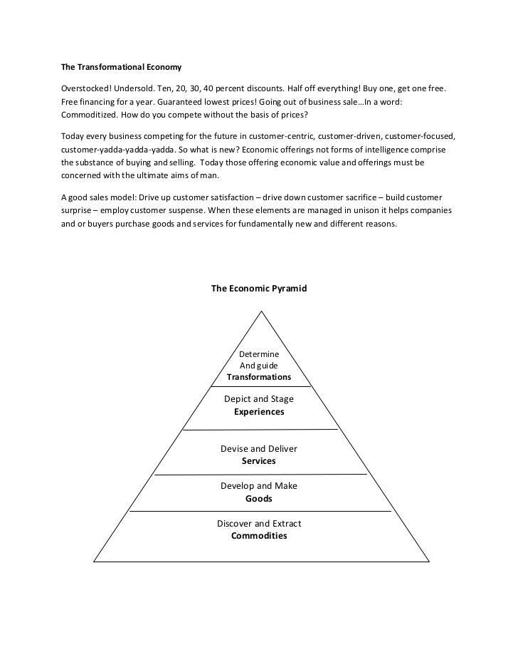 The Transformational Economy