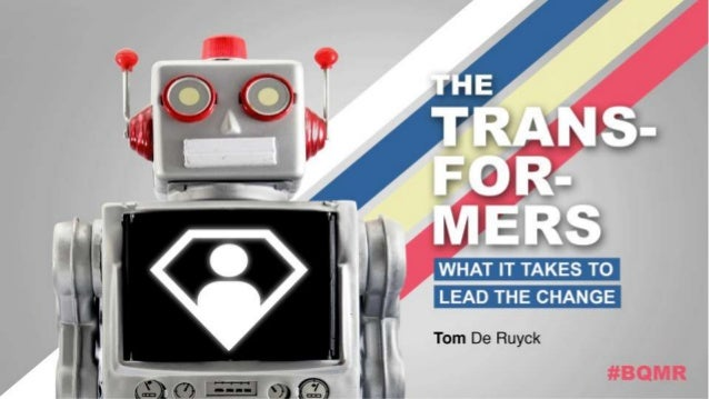 The Transformers - What it Takes to Lead the Change in Market Research