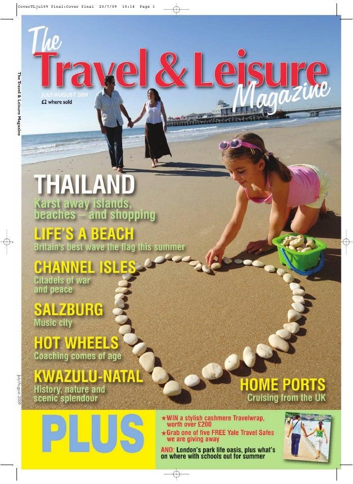The Travel & Leisure Magazine July Aug 2009.~Pdf