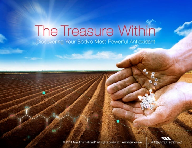 The Treasure Within       Discovering Your Body's Most Powerful Antioxidant    Please feel free to post this on your blog ...