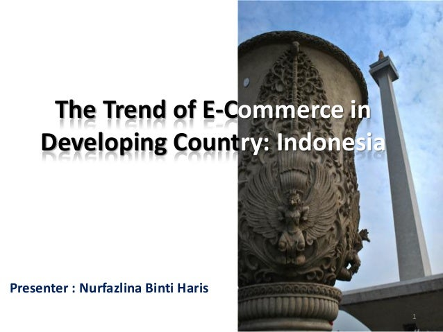 The trend of e commerce in developing country