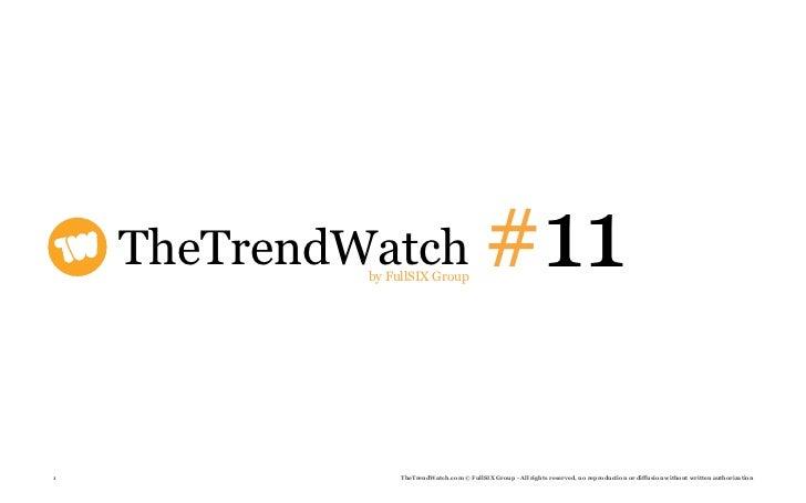 TheTrendwatch #11