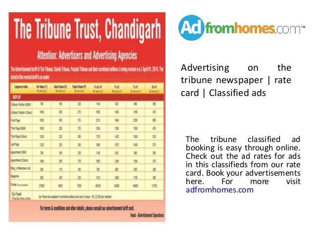 The tribune new...