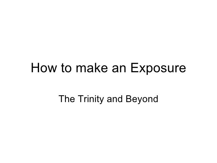 How to Expose