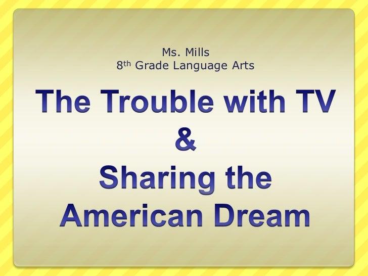 Ms. Mills8th   Grade Language Arts