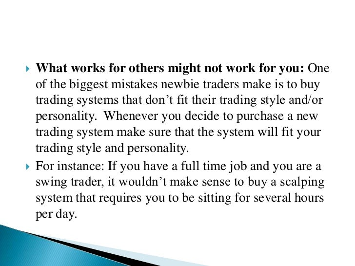What is a good trading system