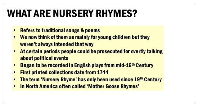 The Tudors in Nursery Rhymes