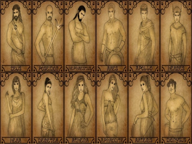 The Twelve Olympians English I0