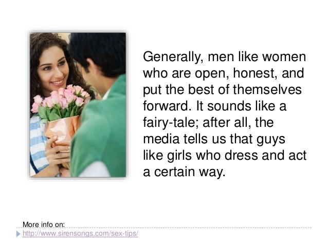 The Types Of Women Guys Like A Small Study