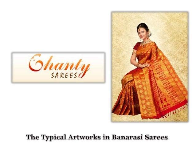 The typical artworks in banarasi sarees