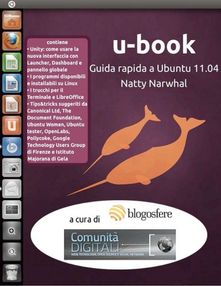 u-book Guida rapida a Ubuntu 11.04 Natty Narwhal