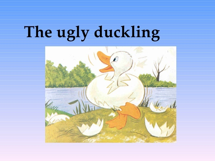 the ugly duckling techniques The ugly duckling is a literary fairy tale by danish poet and author hans  christian andersen (1805–1875) the story tells of a homely little bird born in a.