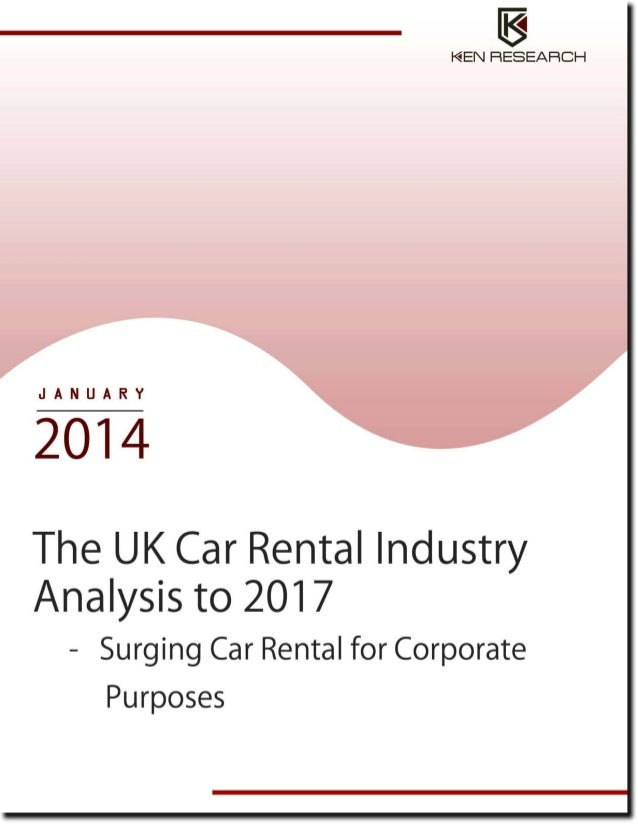 Automotive Industry: The UK Car Rental Industry Research Report