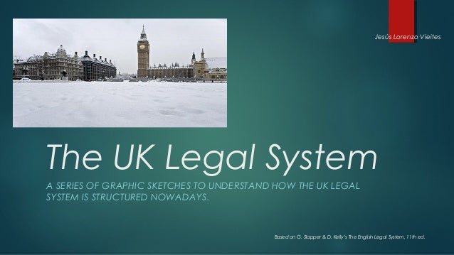 Jesús Lorenzo VieitesThe UK Legal SystemA SERIES OF GRAPHIC SKETCHES TO UNDERSTAND HOW THE UK LEGALSYSTEM IS STRUCTURED NO...