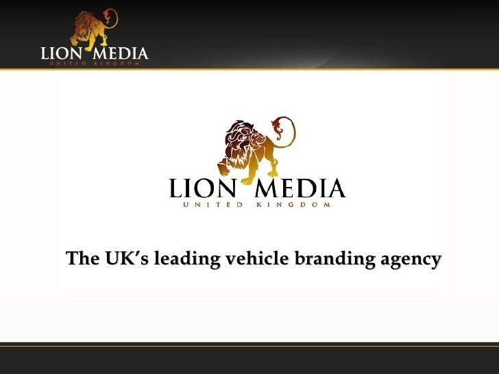 Lion Media UK - The UK's leading vehicle branding agency