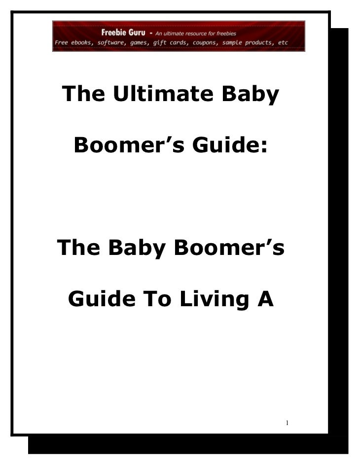 The ultimate baby_boomer_s_guide